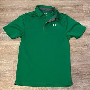 Under armor men's size small polo shirt